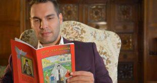 Ο Βούλγαρος δημοσιογράφος Άγγελος Μπόντσεφ γράφει στα ελληνικά το πρώτο βιβλίο για παιδιά για τον βίο του Άγιου Λούκα του Ιατρού από την Κριμαία